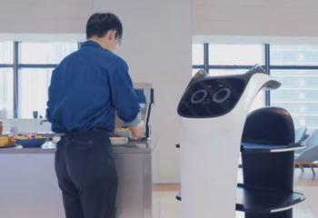 Presentado en el CES 2020 BellaBot, un robot camarero que maulla