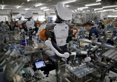 Un robot de kawada llamado Nextage