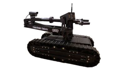 Robot de reconocimiento LT2 Bulldog Tactical Robot