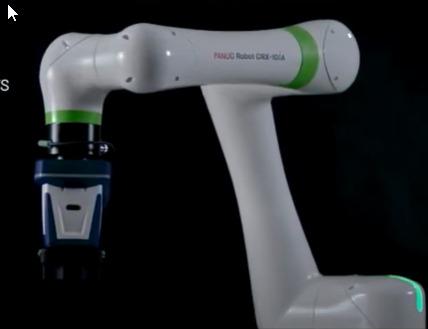 El nuevo brazo robótico de Fanuc, destaca por ser más ligero que su antecesor
