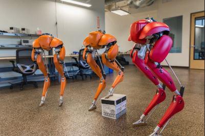 Un robot destinado a cambiar otros robots camareros