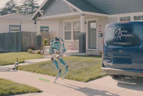 Descubre como serán los robots repartidores de paquetes