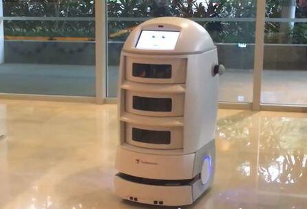 Robot Techi Butler, otro mayordomo para tu hotel